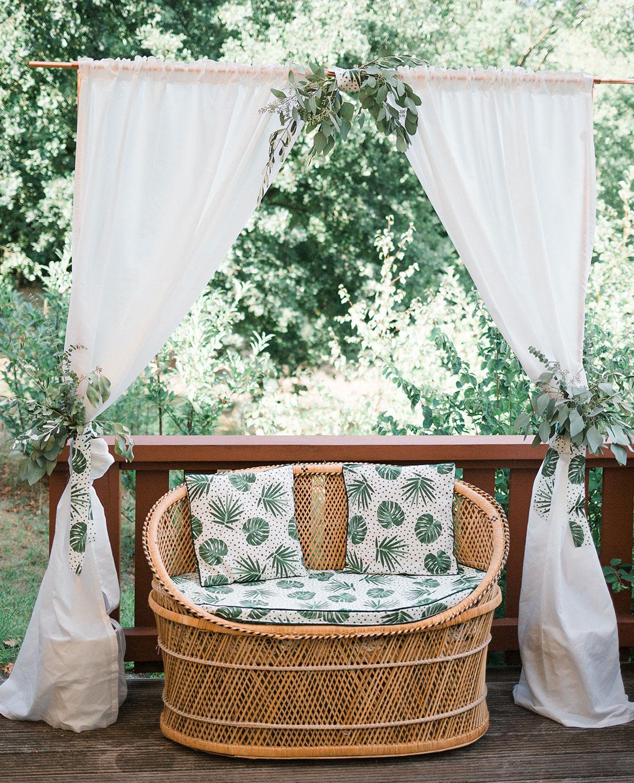 Hochzeit im 'Greenery-Style' - Florale Dekoration - Kerstin Adrian