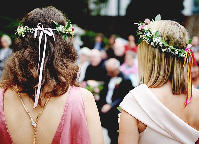 Haarschmuck Trauzeuginnen - Kerstin Adrian Hochzeitsfloristin