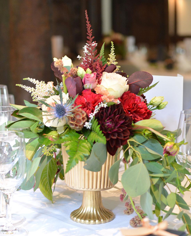Tischdekoration für Hochzeit im 'Gold-Style' - Kerstin Adrian
