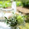 Freie Zeremonie Bankschmuck Blumendekoration - Greenery Hochzeit
